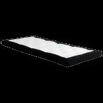 Topmadrassen betyder meget for kvaliteten af din søvn (foto dunlopillo.dk)